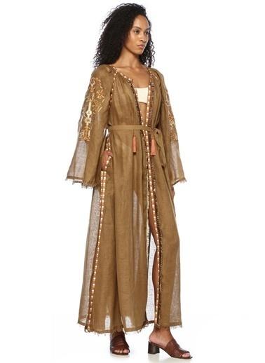 Sleeping Gypsy Elbise Bej